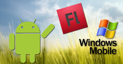 Adobe flash for Android and Windows Mobile