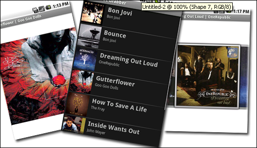 Android apps: Album Art Grabber - MyLittleBigApps