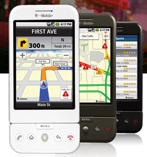 Telnav for Android turn by turn GPS directions