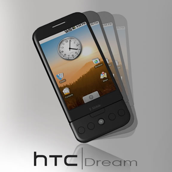 The look of the T-MObile HTC Dream G1?