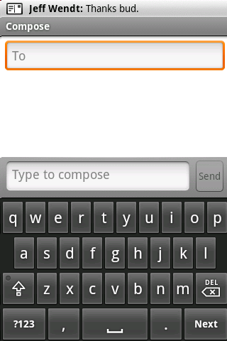 Android Soft Keyboard