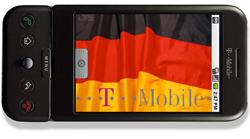 T-Mobile G1 Germany
