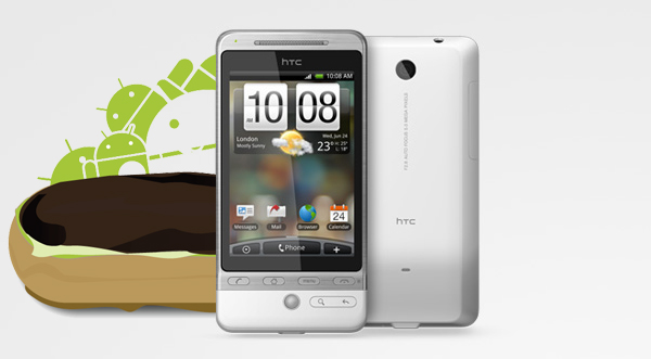 HTC Hero Android 2.1 update scheduled for March