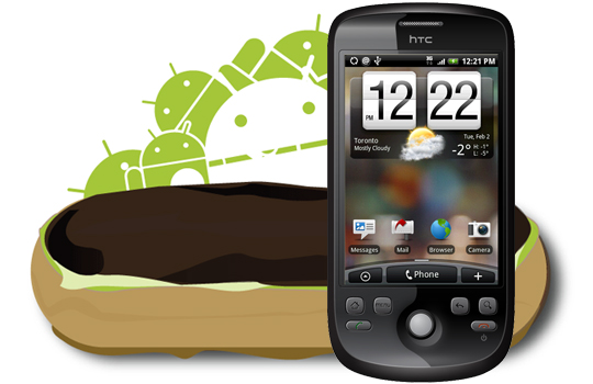 Android 2.1 update for Rogers HTC Magic finished, pending final review from Google