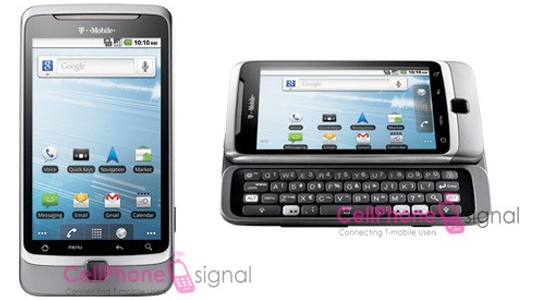 A few new rendered images of the T-Mobile G2