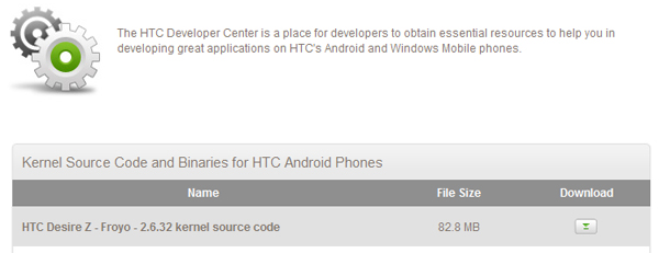 HTC releases HTC Vision (T-Mobile G2) source code