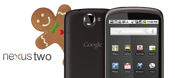 HTC Nexus Two with Gingerbread