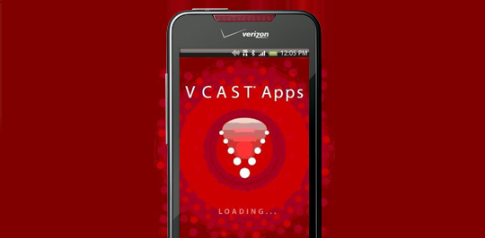 HTC DROID Incredible VCAST Apps