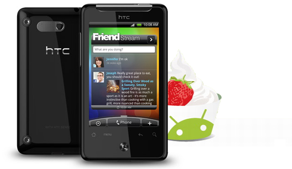 HTC Aria getting a taste of Froyo, OTA update heading to Asia