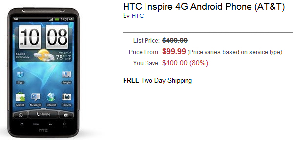 Video: Unboxing and first hands-on impressions of the HTC Inspire 4G from