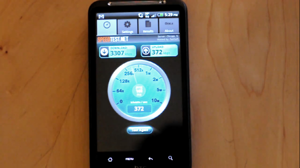 Testing AT&T's 4G HSPA+ network with the HTC Inspire 4G