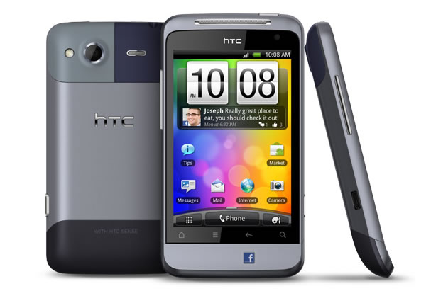 Introducing the HTC Salsa, the second of two social phones from HTC
