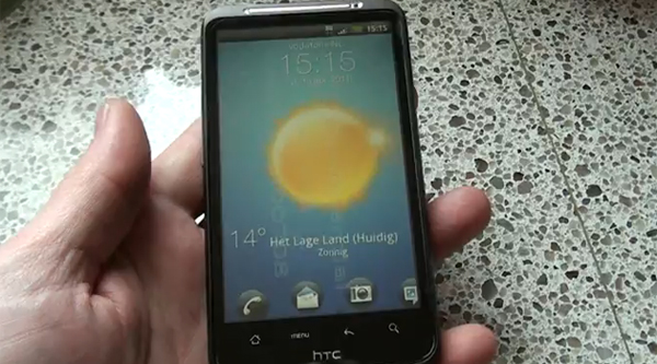 HTC Desire HD gets an Alpha ROM with HTC Sense 3.0