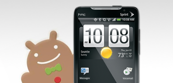 Manually download the HTC EVO 4G Gingerbread update