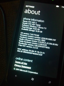 WP7Mango Beta 2