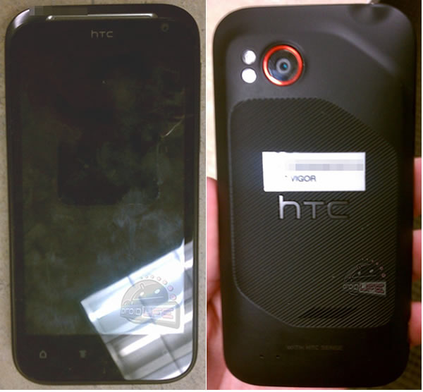 HTC Vigor caught on camera, reveals contoured body design