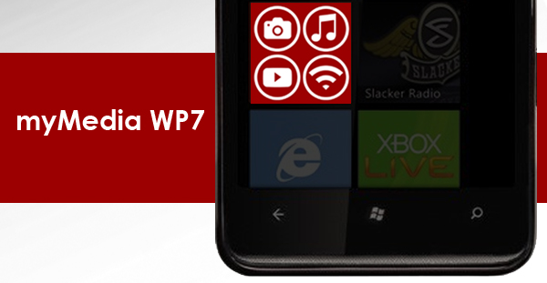 myMedia WP7: TVersity client for your Windows Phone