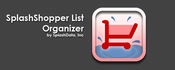 SplashShopper_List_Organizer