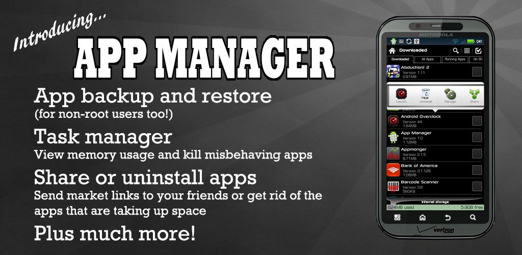 Android app review: App Manager Pro by JRummy16