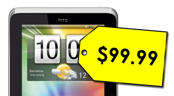 HTC Flyer price reduced to $99 at Best Buy, digital pen only $39