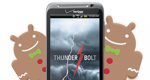 HTC and Verizon release HTC Thunderbolt Gingerbread update… again