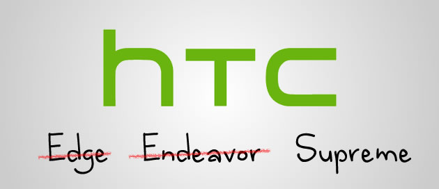 HTC's quad-core Edge now renamed Endeavor or is it Supreme?