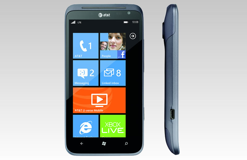 AT&T HTC Titan II unveiled as the worlds first 4G LTE Windows Phone