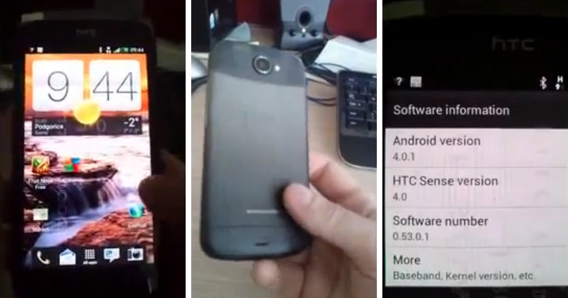 HTC Ville video shows of HTC Sense 4.0 running on Ice cream Sandwich