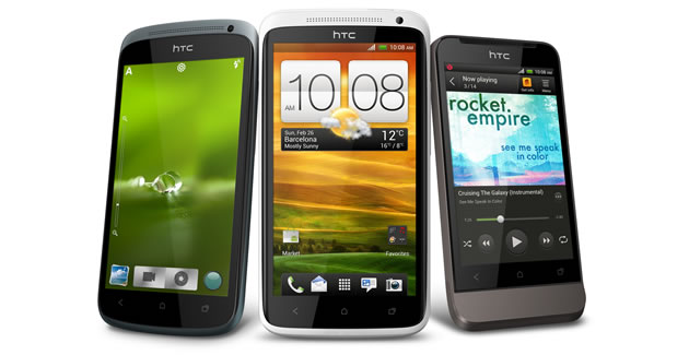 HTC One X, One S and One V prices revealed on Expansys pre-order pages.
