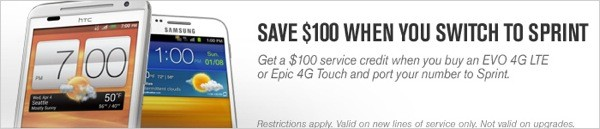 White HTC EVO 4G LTE accidentally outed by online promo image