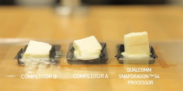Video: HTC One S keeps its cool during Qualcomm's butter benchmark