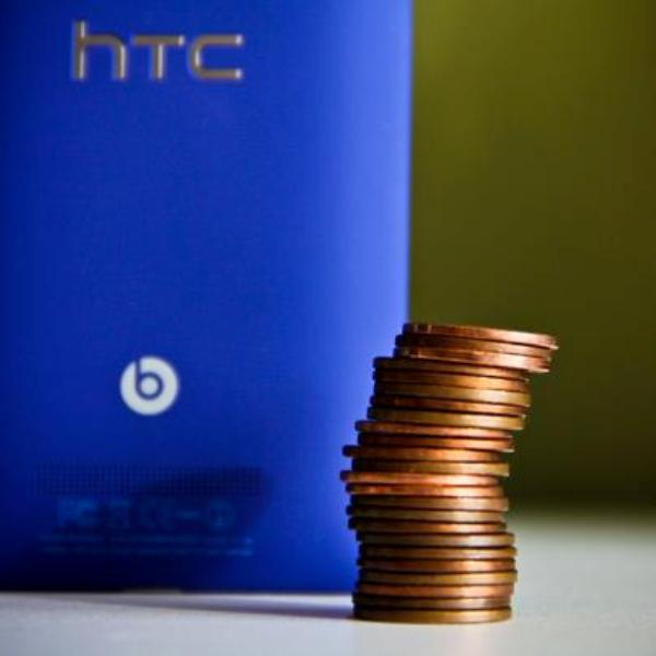 HTC boasts the weight of the HTC 8X is lighter than that 'other' Windows Phone
