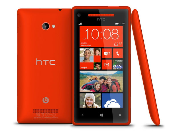 Verizon confirms HTC 8X wireless charging, $199 price tag and exclusive red and black colors