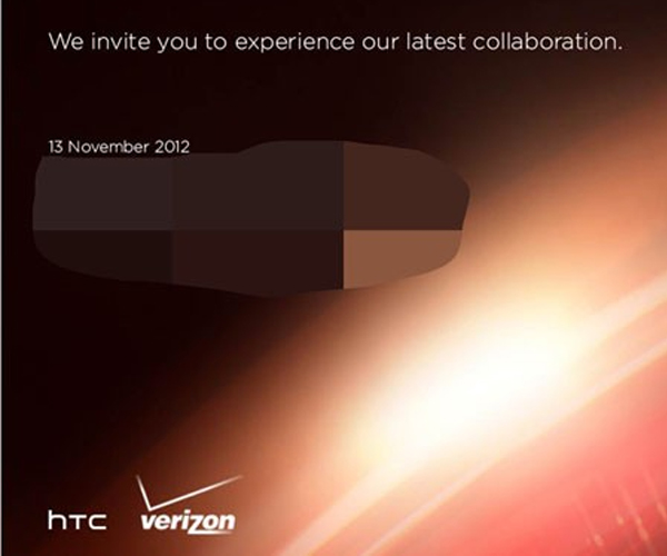 Verizon and HTC send out press invites for November 13th event – HTC DROID DNA launch imminent?