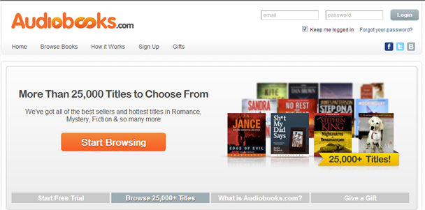 Audiobooks.com introduces monthly plans starting at $14.95