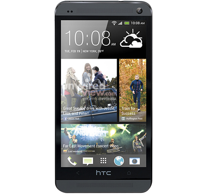 Black HTC One revealed in newly leaked image