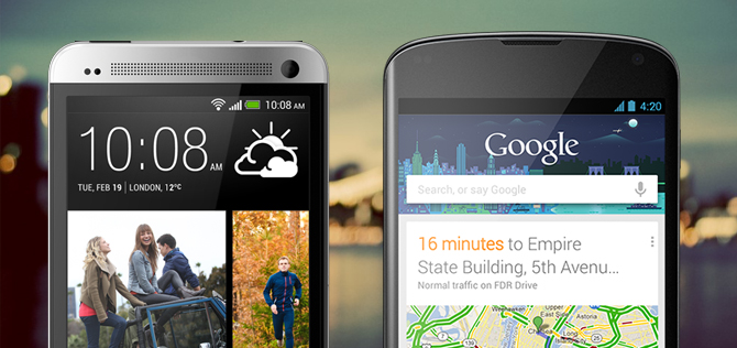 HTC One versus Nexus 4 – spec showdown