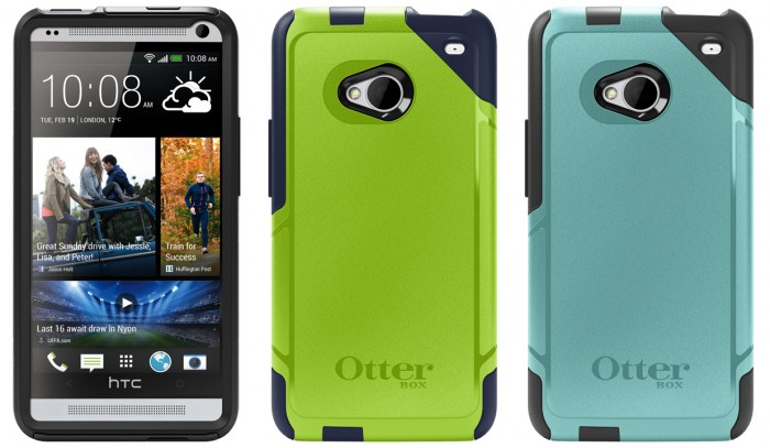 Protect your HTC One with the new OtterBox Commuter and Defender Series cases