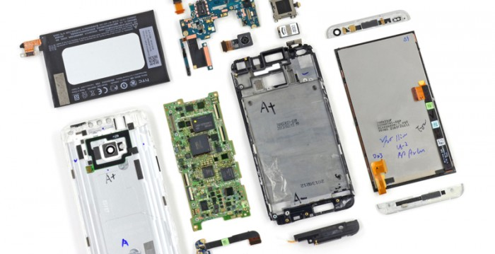 Charming HTC One Is Tough To Take Apart Unless You Work At HTC
