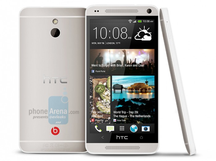 Leaked picture shows HTC M4 dressed up as the HTC One Mini – hints at May 16 launch date