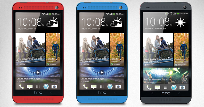 Red and blue HTC One may arrive later this summer
