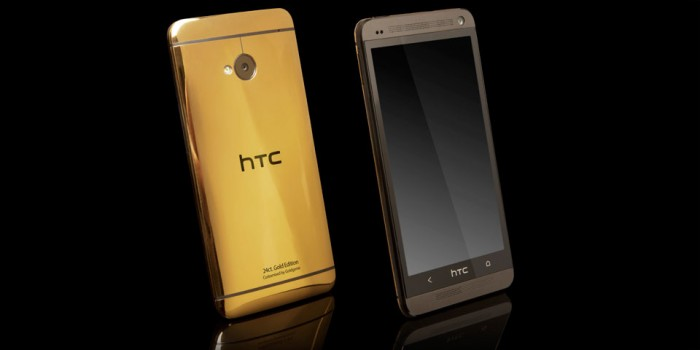 Limited edition gold and platinum plated HTC One redefine the premium smartphone market