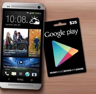 HTC promo offers $25 Google Play credit to new HTC One customers