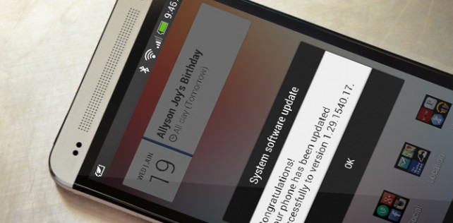 Unlocked and Developer Edition HTC One receiving new software update