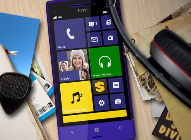 HTC 8XT now available from Sprint for $99.99