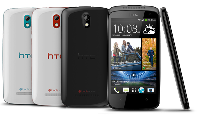 HTC Desire 500 unveiled, heading to Taiwan on August 1st