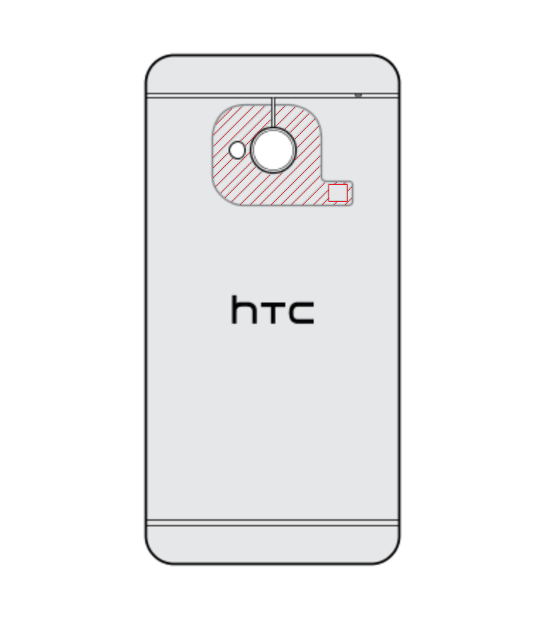 NFC Sensor on HTC One