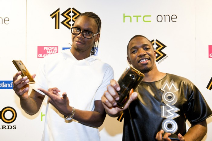 Krept & Konan Wins an HTC One Gold as the Best Newcomer at the MOBO Awards