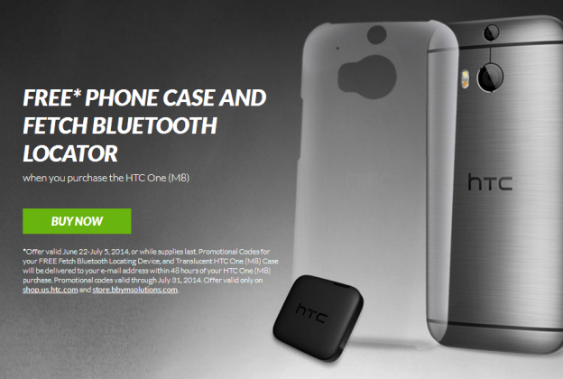 Free Case and HTC Fetch
