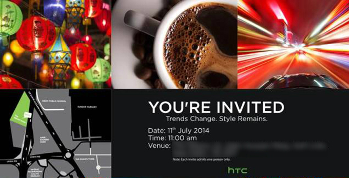 HTC One (E8) may make its debut in India on July 11